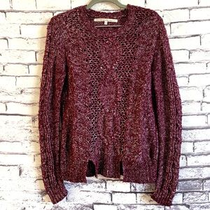 RACHEL Rachel Roy Cable Knitted Sweater